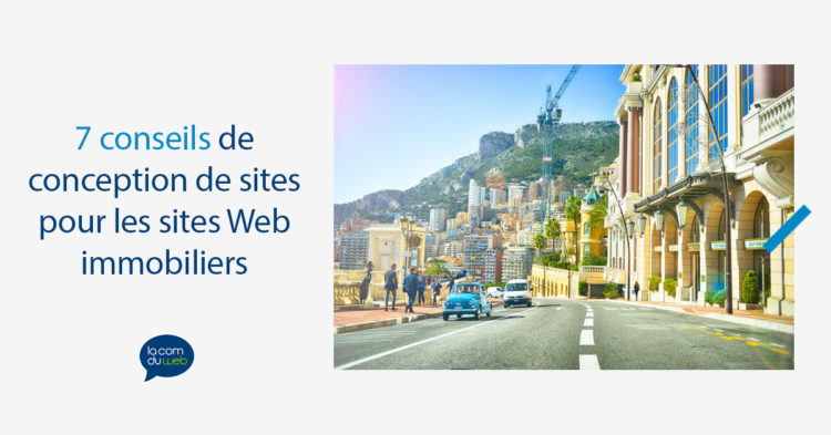 7 conseils de conception de sites Web pour les sites Web immobiliers