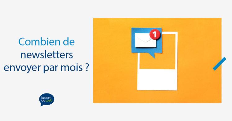 Combien de newsletters envoyer par mois : y a-t-il un nombre parfait ?