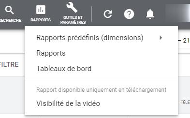 Google Ads - Rapports