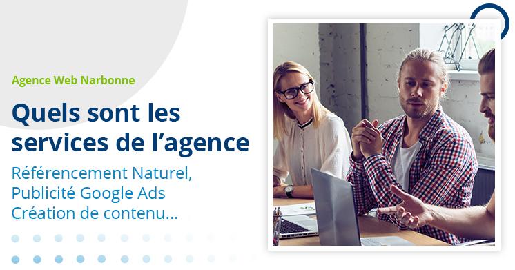 Agence Web Narbonne - services proposés