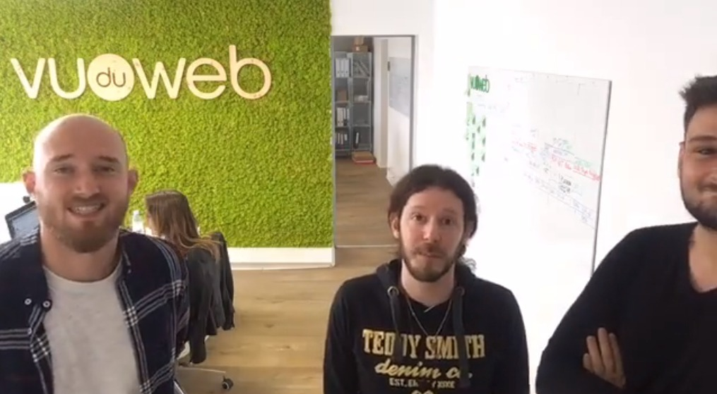 Recap digital Vu du Web