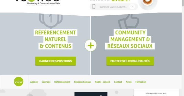 site internet de vu du web